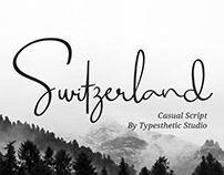 Free Switzerland Script Font