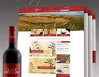 Tiffan's winery website redesign