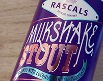Craft Beer Typography Packaging