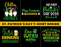 St. Patrick's Day T-Shirt Design.