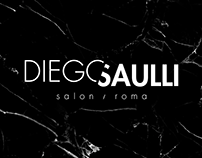 Diego Saulli Salon identity