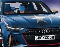 2020 Audi RS6 Avant Captain America Edition