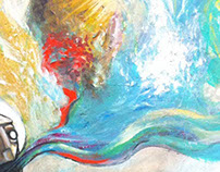 """""""Something New"""" - Acrylic on Canvas"""