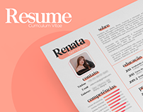 My new resume/CV!