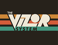 The Vizor System - Brand Identity and Layout Design