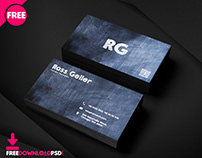 Tutor Business Card PSD Template
