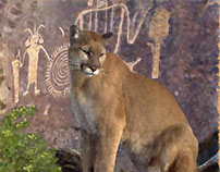Cougar and the Pictographs