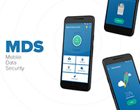 Mobile Data Security (Android app)