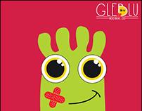 Gleblu - Logo & First Aid Packaging Design