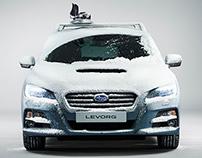 Subaru Levorg - Retouching