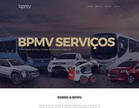 Site BPMV Serviços - Locação de frotas