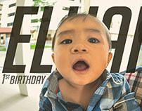 Elhan's 1st birthday party