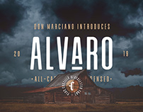 FREE | Alvaro All-Caps Condensed Font