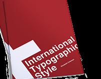 Design History Book | International Typographic Style