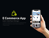 E-Commerce Mobile App | UI/UX Design
