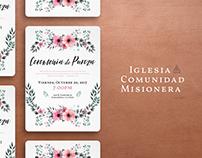 Bilingual Church Event Invitation