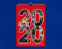 MARVEL CALENDAR 2020