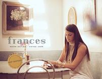 Frances | Modern Boutique + Vintage Charm