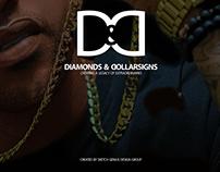 Logo Design Diamonds & Dollarsigns Brand