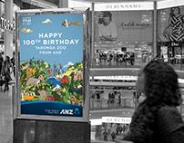 ANZ wishes Taronga Zoo a happy 100th birthday