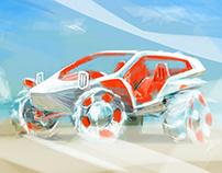 Beach Buggy 2020 Sketchfighter sketches