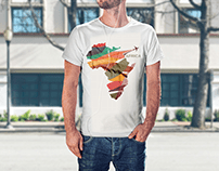 Africa Illustration Tshirt Design