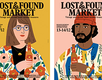 Lost & Found Poster Illustrations