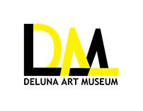 DeLuna Art Museum Identity