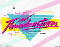 Thunderstorm Typeface