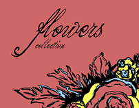 Sketchbook - flowers collection