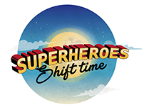 Super Heroes Shift Time
