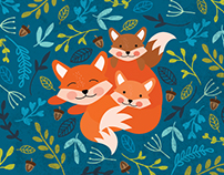 3 Foxes