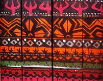 Door pattern.