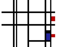 Piet Mondrian Animation