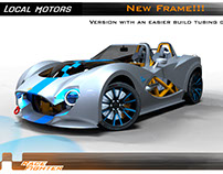 local motors race fighter ( cobra concept )