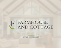 Farmhouse & Cottage Homepage Design