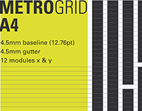 MetroGrid - a Timeless Grid for the A4 Page