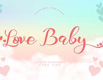 Love Baby Handwritten Font