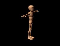 Animacja postaci - skok w przód