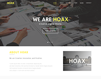 Hoax Theme - Landing Page