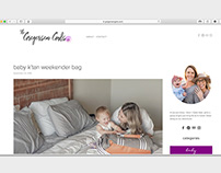Gregersen Gals blog design