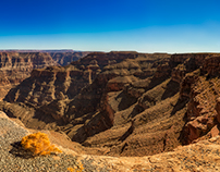 Grand Canyon West Rim Panoramic