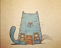 cat city - sketch version