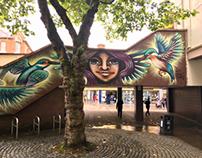 Street Art from Blackburn Open Walls Project
