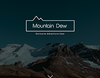 Mountain Dew - Website Concept