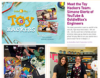 Toy Hackers - GoldieBlox