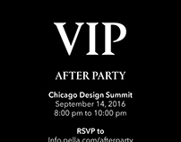Pella Crafted Luxury VIP After Party Invite