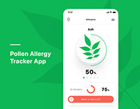 Pollen Allergy Tracker App