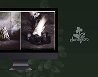 Donaflor Flower Shop Website