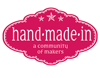 Logo Hand • Made • In, A community of makers